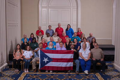 101 Eagle Fest Group Photo with Puerto Rico