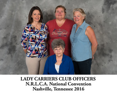 Lady Carriers Club Officers - Titled