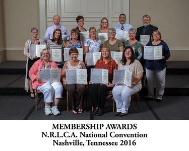 101 Membership Awards Titled