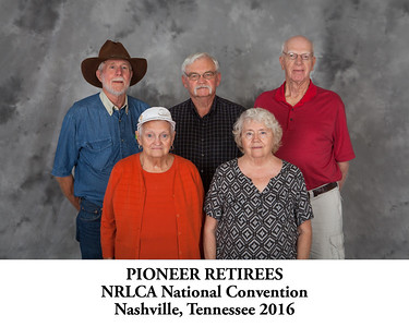 Pioneer Retirees - Titled