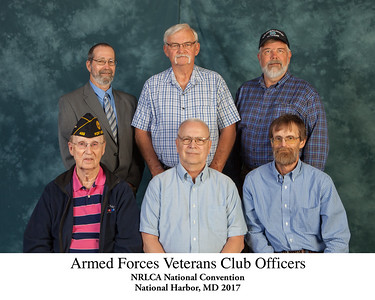 Armed Forces Veterans Club Officers 100028 Titled