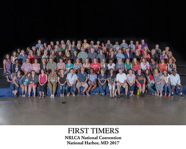 First Timers Group Photo Titled