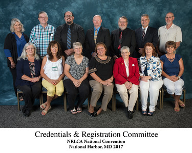 Credentials & Registration Committee 070449 Titled