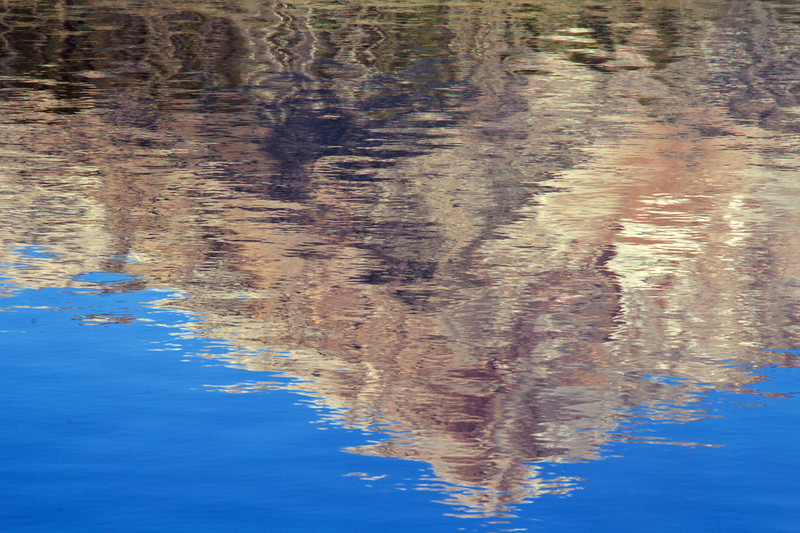 The dance of wind and water create impressionist interpretations of Little Redfish.