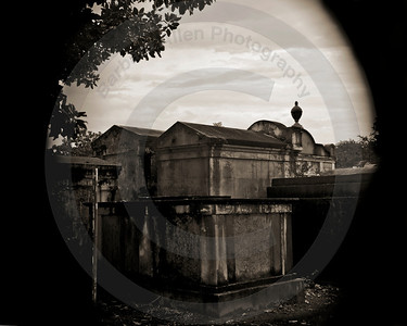Lafayette #1 Cemetary Mausoleums