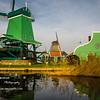 Day 52 -  Windmills<br /> Tue. December 3, 2013<br /> <br /> Back to Holland today... <br /> We visited Volendam village.