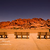 Benches<br /> Wed. August 24, 2011 (Day 349)<br /> <br /> Back in Houston...  long day in the office. <br /> This picture was taken when we visited Red Rock Canyon.