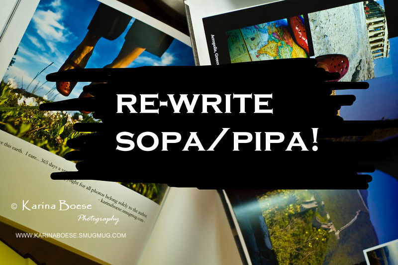 """SOPA/PIPA Protest Day<br /> Wed. Jan 18, 2012 (day 61)<br /> <br /> The bills have good purposes.. they just need to rewrite bunch of them!  <br /> -and this is my opinion. You can have your own. <br /> <br /> There are good videos, I think, that explain how this bill work:<br /> <br /> <a href=""""http://www.khanacademy.org/video/sopa-and-pipa?playlist=American"""">http://www.khanacademy.org/video/sopa-and-pipa?playlist=American</a>+Civics<br /> <a href=""""http://virtualphotographystudio.com/photographyblog/2012/01/why-sopa-pipa-affect-all-of-us/"""">http://virtualphotographystudio.com/photographyblog/2012/01/why-sopa-pipa-affect-all-of-us/</a>"""