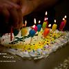 Happy Birthday Brayden<br /> Fri. Jan 20, 2012 (day 63)<br /> <br /> We celebrated my nephew's birthday with ice cream cake & lots of presents for him tonight.