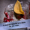 Today's Fortune Cookie<br /> Wed. July 25, 2012 (day 214)<br /> <br /> I've been absent from my Daily Photo this month. <br /> Apparently, our new puppy dog really takes my whole energy and time.<br /> Some day I'll be back to normal.... <br /> <br /> Today.. I can't wait to find out which store that has a pleasant surprise for me!