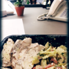 Lunch at Work<br /> Fri. June 28, 2013 (day 327)<br /> <br /> I got me Perfect Fit Meal Rustic Chicken Pasta for lunch today. Yummy!
