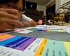 "Hard Worker or Hardly Working? Tue. December 2, 2008 (Day 231)  It's Been A Long Day I'm tired now...  A week off for Thanksgiving really put me in a baaad position.  I can't seem to finish my tasks at the office.   Got home about 8pm tonight...  Managed to talk to <a href=""http://kre8ive.smugmug.com/gallery/5590639_9yR9L"" target=""_blank"">Kre8ive</a> for a minute on skype, then I got back to my colorful spreadsheet.  Tiny info: * Angel's new toy, ""hippo"". * My house still looks pretty plain, no xmas decoration yet. * This shot was taken w/ my brand new sigma 10-20mm and cropped it a bit. * No flash."