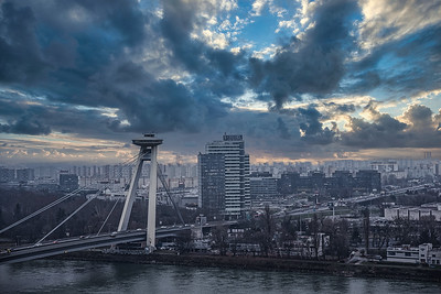 UFO BRIDGE & TOWER, Bratislava