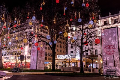 Christmas Lights in Budapest