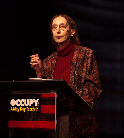 Joyce Carol Oates (my wife)
