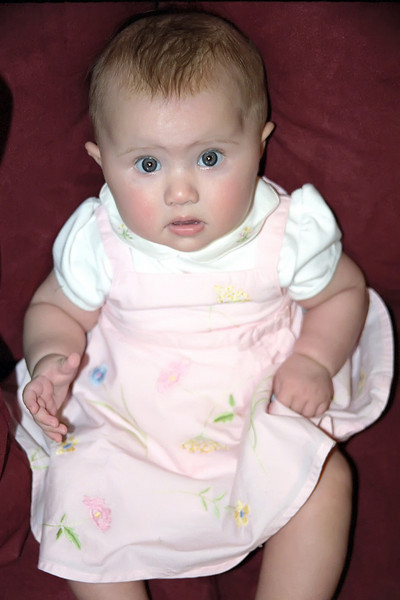 Grace at 4 months