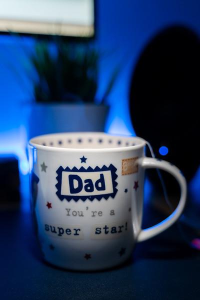 Dad, you're a super star