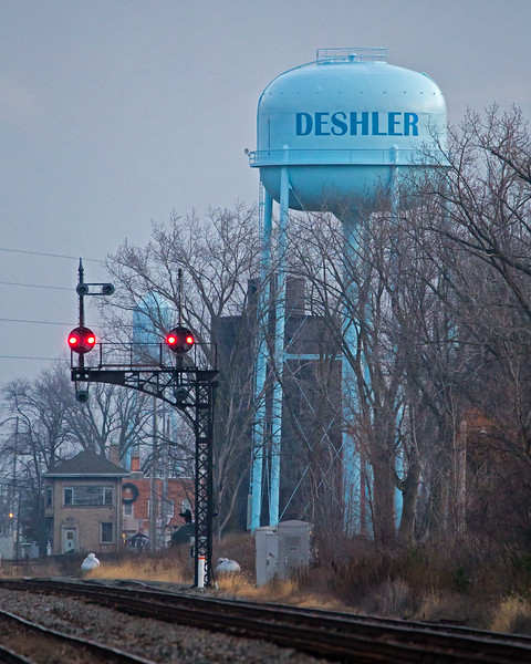 Dawn at Deshler
