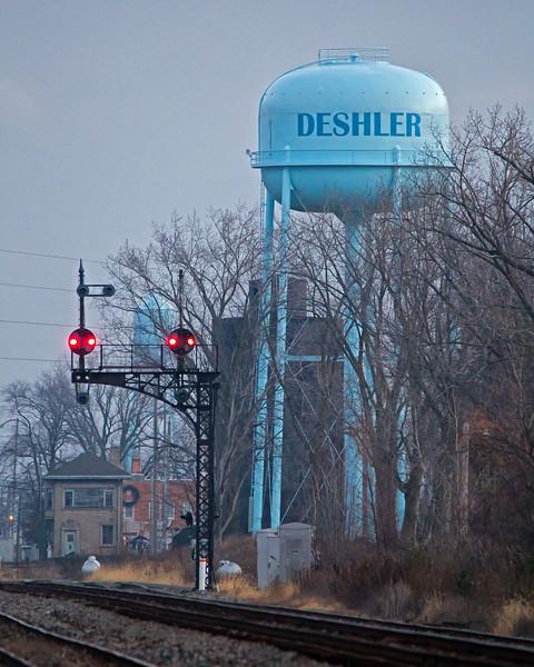 Dawn at Deshler