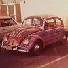1959 volkswagen, Pained by the Hobby Arts Class of Lincoln High School. Class project