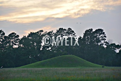 Caddo Mounds Sunset