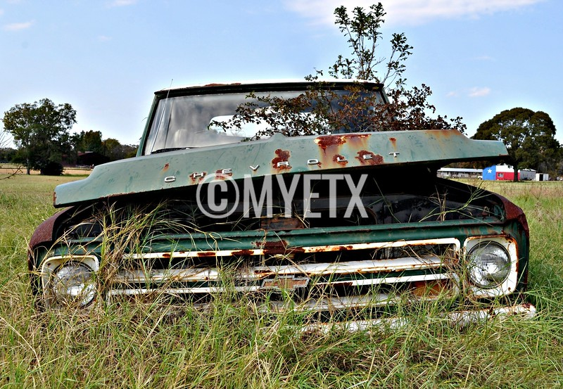 Texas Chevy Resting Place