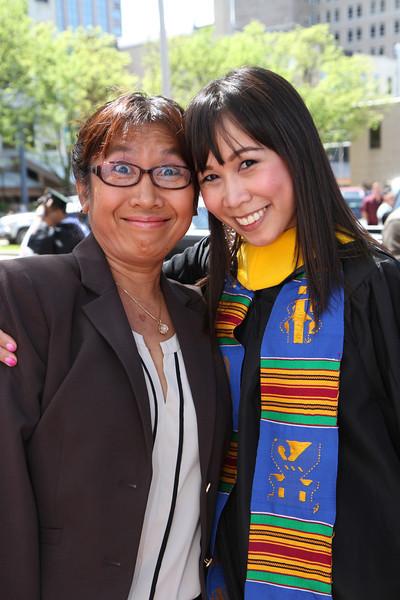Nan's Graduation Day - May 17, 2014