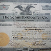 Schmitt wanted serious expansion. In 1902 he found a business parter for the long haul, Rudolph Kloepher, another German with a strong work ethic and capital to invest.