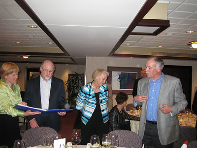 Ann Pankratz, Randy Croyle, Lori Croyle, and 'The King'