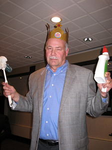 Michele told me I was King Bob - but now of the household, which comes with toilet bowl cleaner responsibilities!