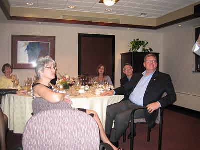 Back left going clockwise- Kathy Schwartz, Ava Johnsey, Lee Trusty, Gary Hockstra, Donna Trusty