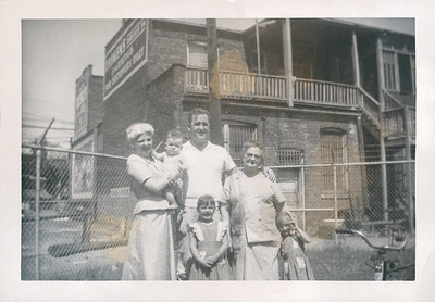Dad, Grandma Carlander and Others