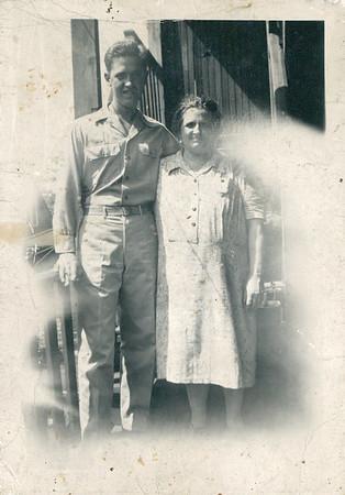 Dad and Grandma Carlander