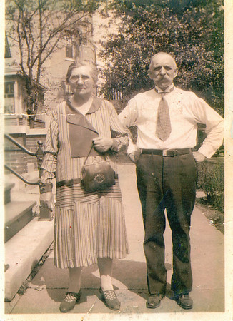 Dziadzia and Busha (Cupidro) Great Grandparents on my Mothers Side