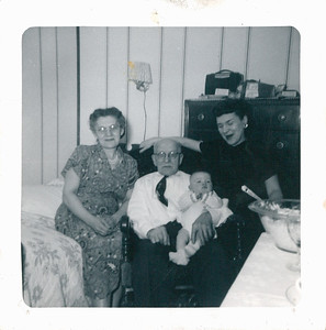 Grandma Cupidro, Dziadzia, My Mother and my Brother Bill