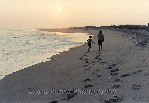 Alison Boylston Piazza, South Beach, Autumn Beach, golden fall, Edgartown