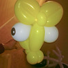 These are the awesome balloons the balloon guy at a fundraiser event gave Cayden.