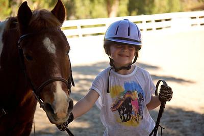 Hailey Horseback Riding (and Blake Watching)