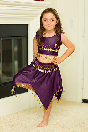 Hailey Belly Dancing Outfit from Istanbul