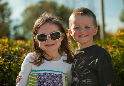Hailey and Blake in the Park Jan 2 2012