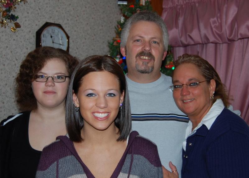 Specht Family, Christmas 2008
