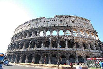 Italy Day 2 Roma - Colossem