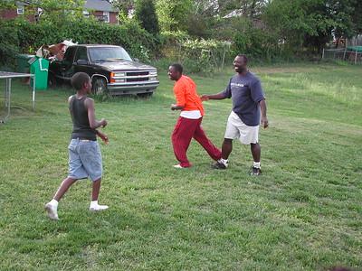 Yard Playing