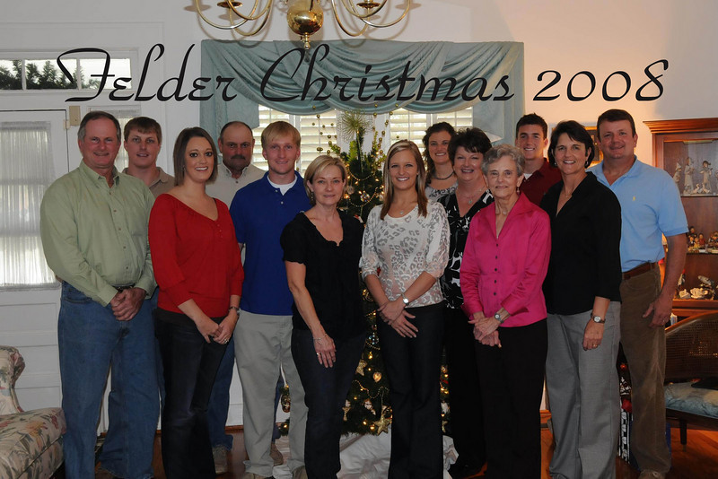 felder christmas with text