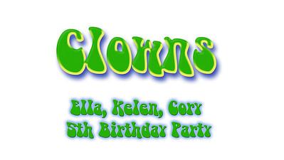 Cory, Ella, Kelen 5th Birthday