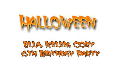 Ella, Kelen, Cory 6th Birthday Party