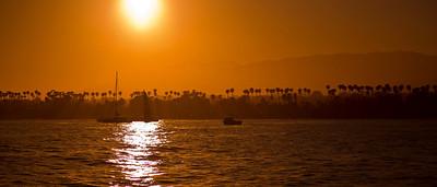 Bridlewood Winery Boat Ride - Santa Barbara July 2012
