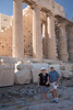Ross and Kay at the Parthenon