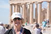 Kay at the Parthenon