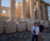 Jim and Fran at the Parthenon